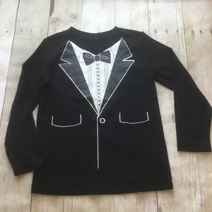 Boy's Tuxedo Tee T-Shirt size 5 New without tags
